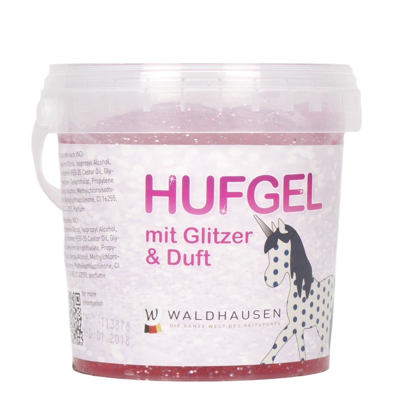 Waldhausen Unicorn hoefgel roze