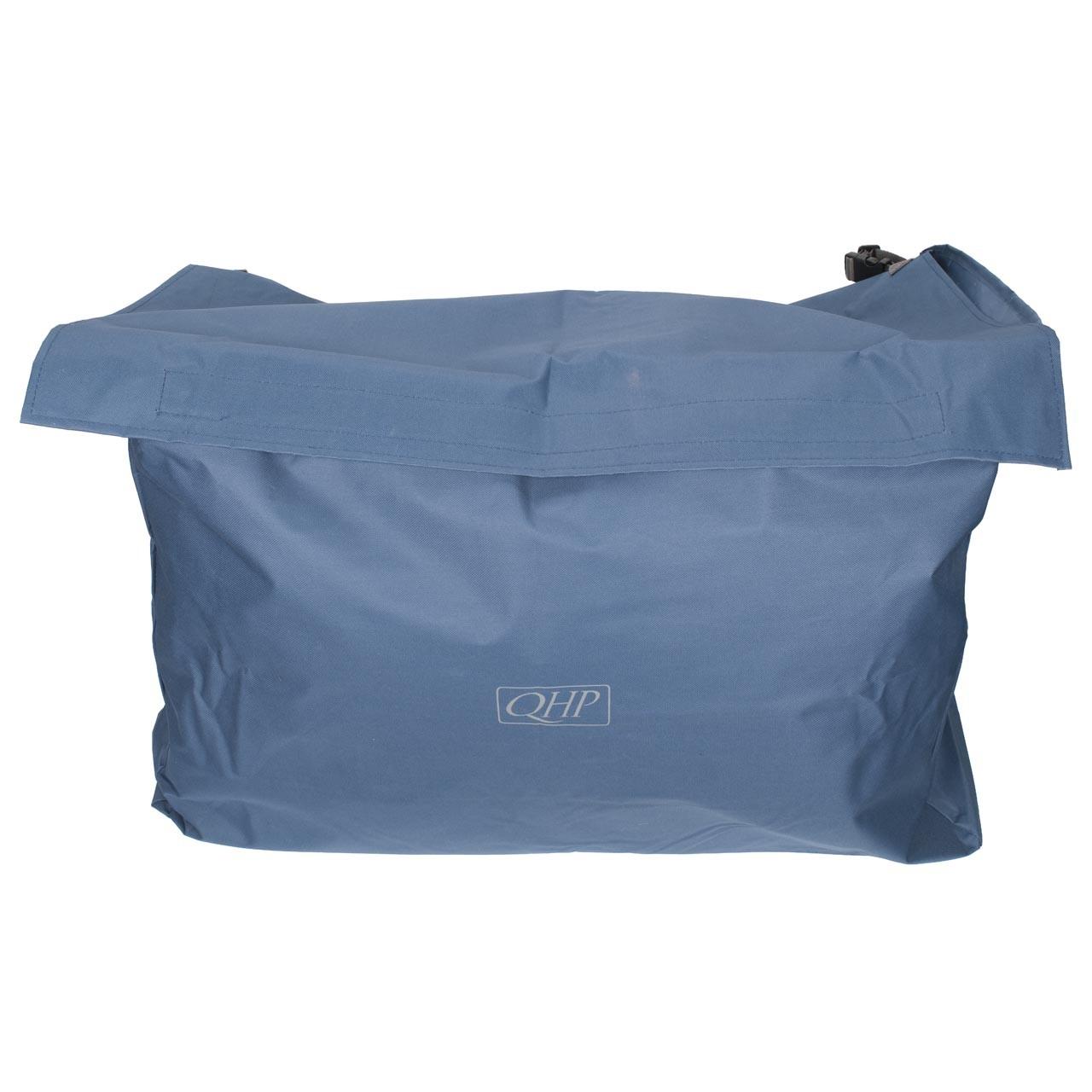QHP stal tas donkerblauw
