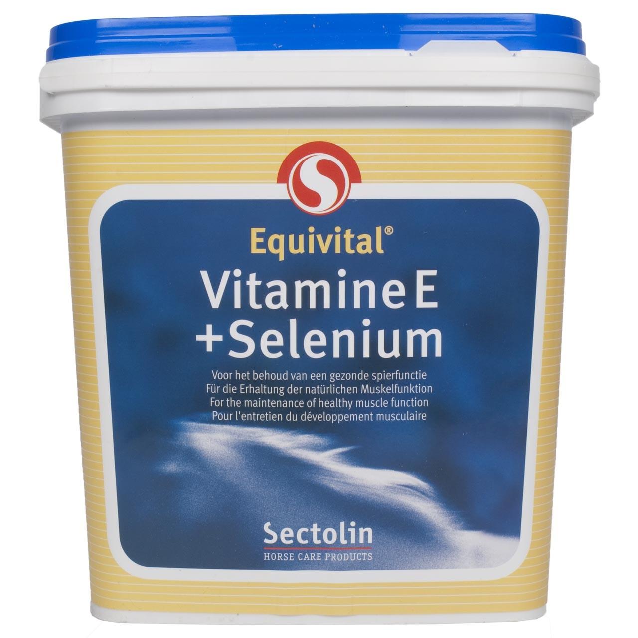 Sectolin Equitvital Vitamine E + seleen 3kg