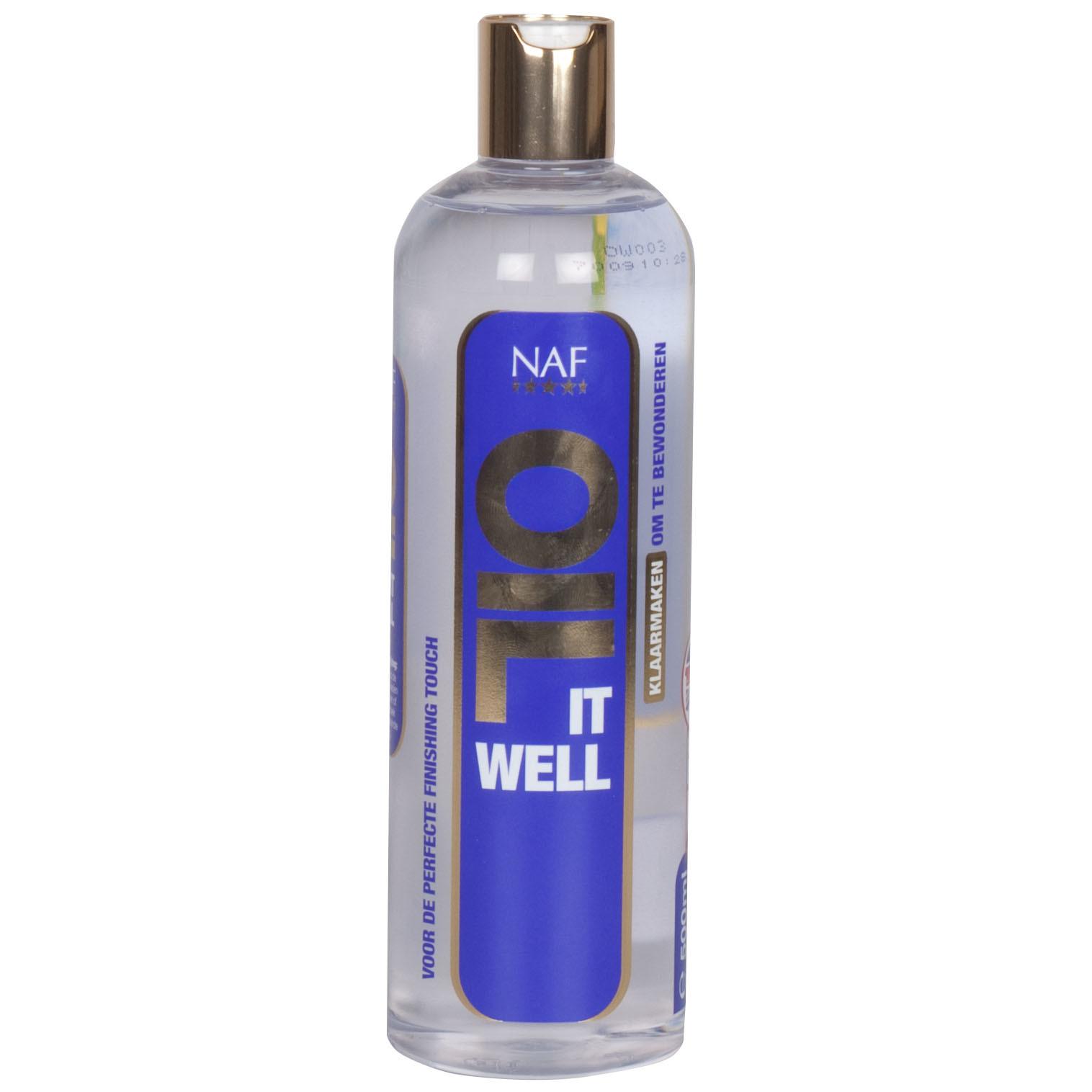 NAF Oil it well