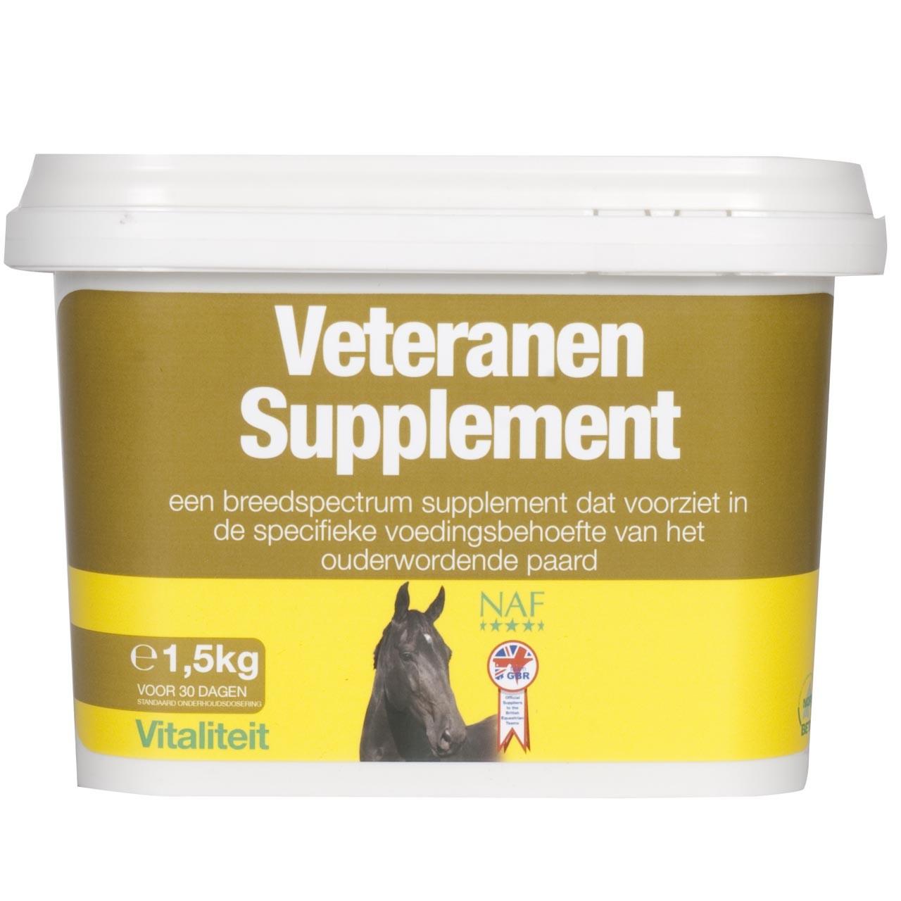 NAF Veteranen Supplement horse - Voeding en Supllementen