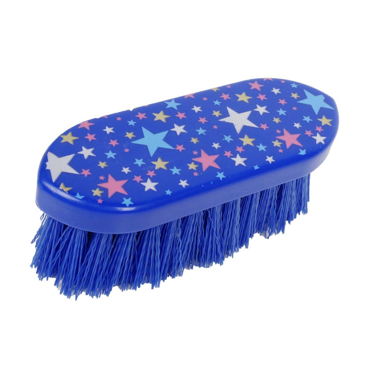 Pagony harde borstel Stars blauw