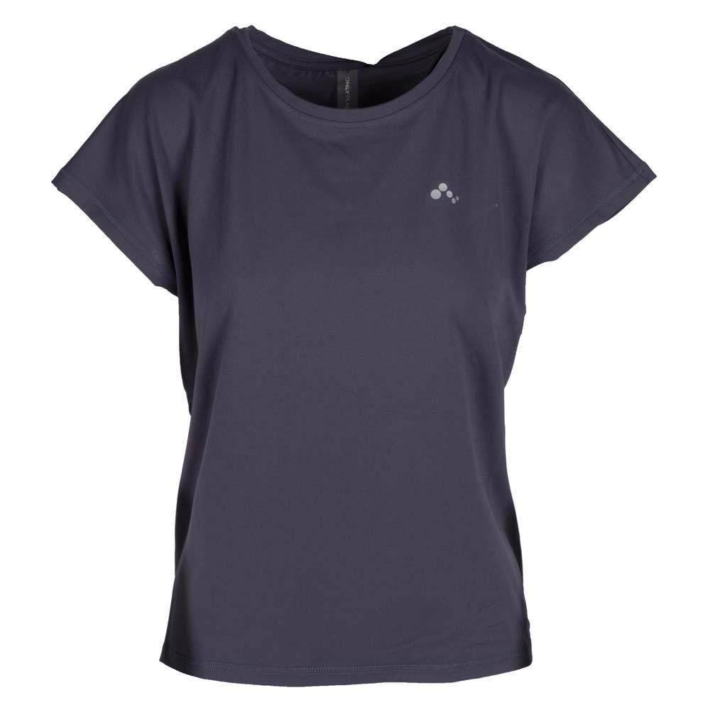Only Play Trainingsshirt Aubree grijs maat:xs