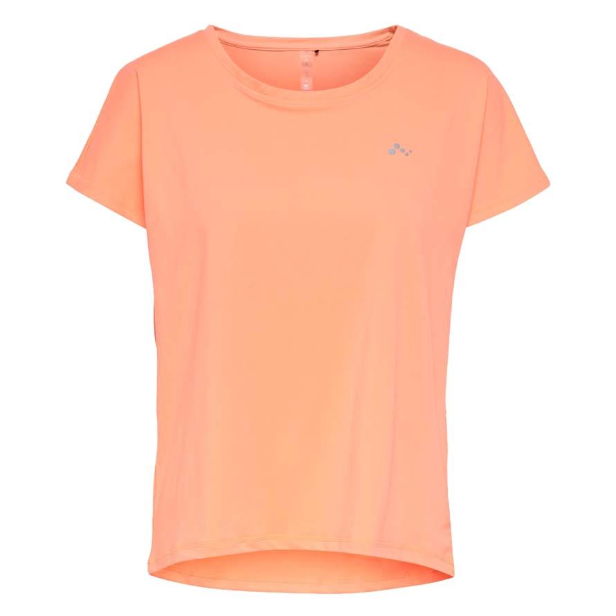Only Play Trainingsshirt Aubree oranje maat:s