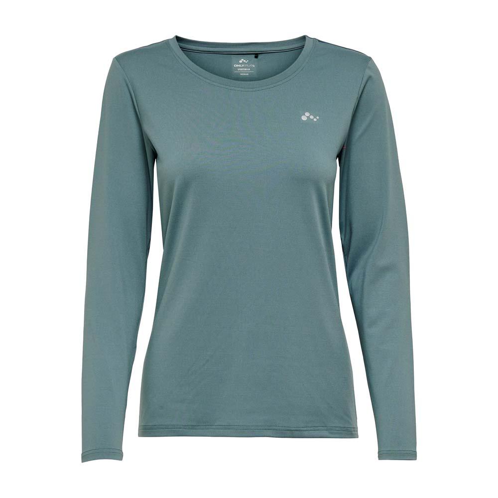 Only Play Clarissa longsleeve Trainingsshirt blauw maat:s