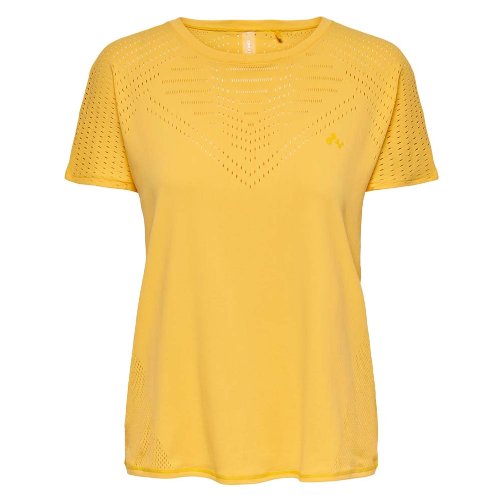 Only Play Miral Trainingsshirt geel maat:m