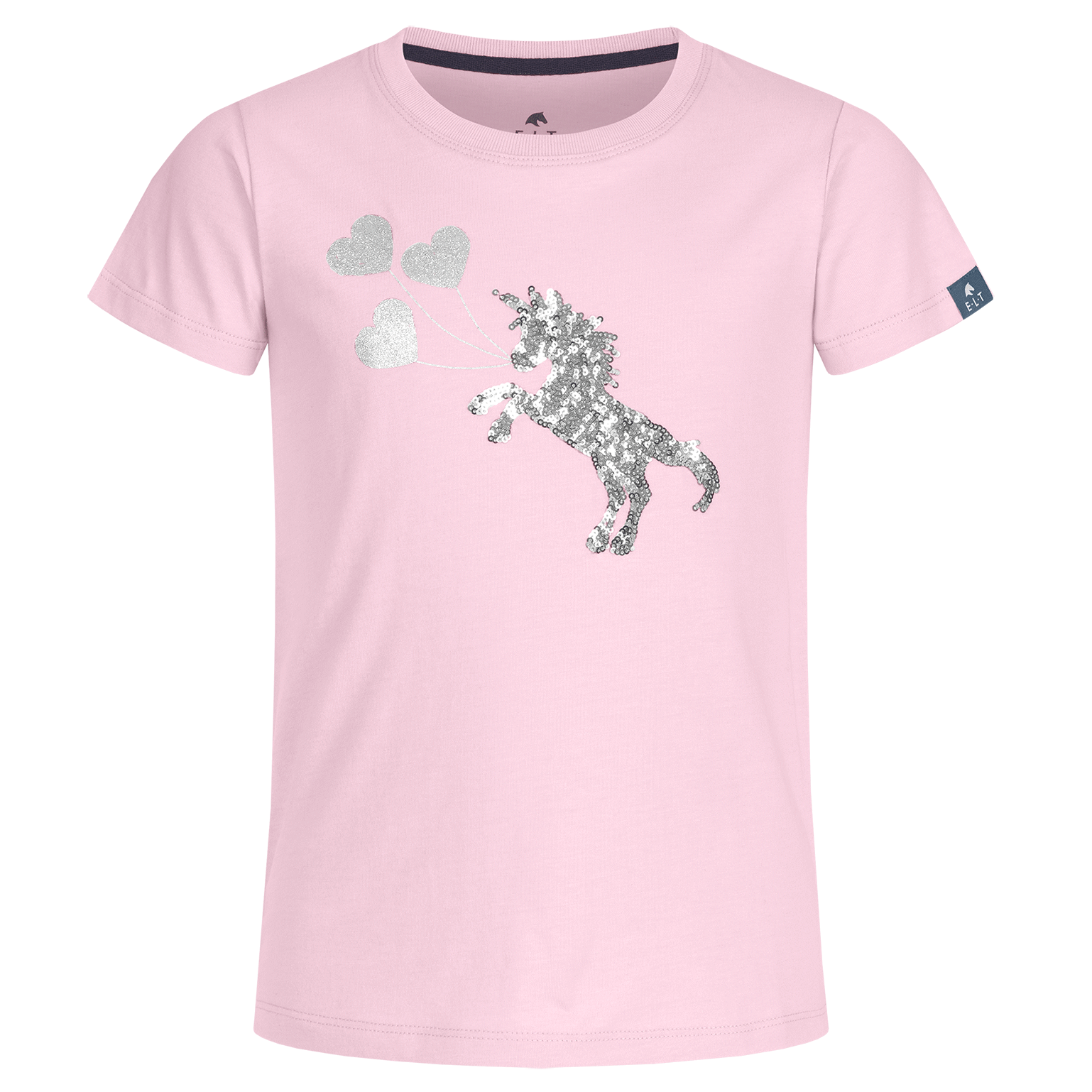 ELT Lucky Flora jr T-shirt lichtroze maat:128