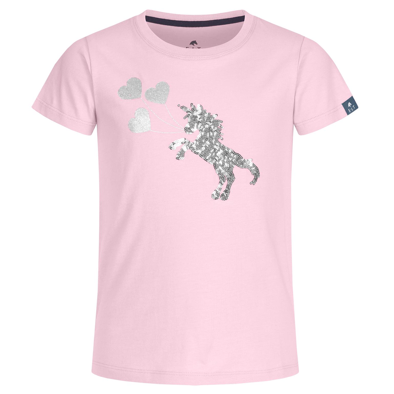 ELT Lucky Flora jr T-shirt lichtroze maat:140