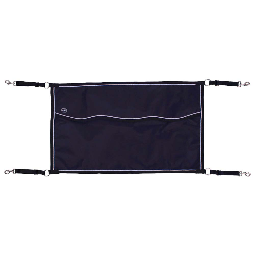 QHP Boxafsluiter 60x95 cm donkerblauw