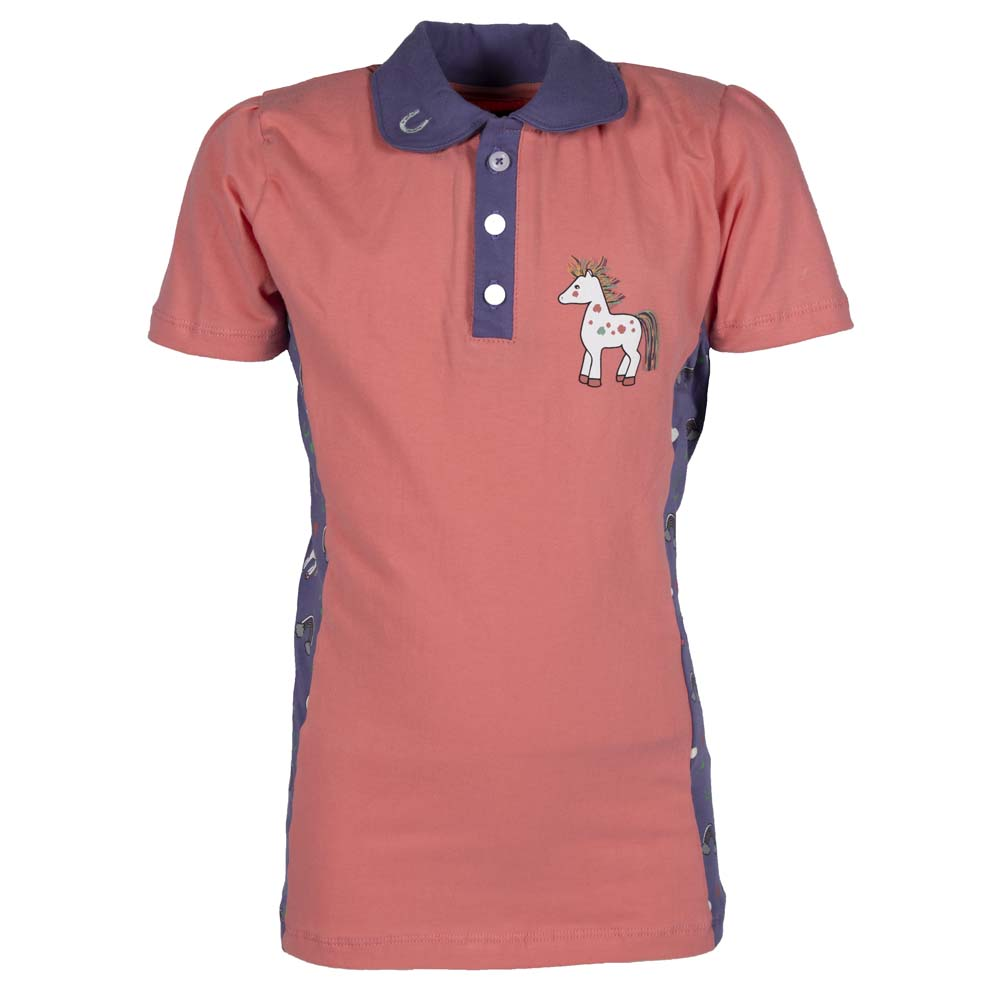 Horka Poppy kinder Polo roze maat:128