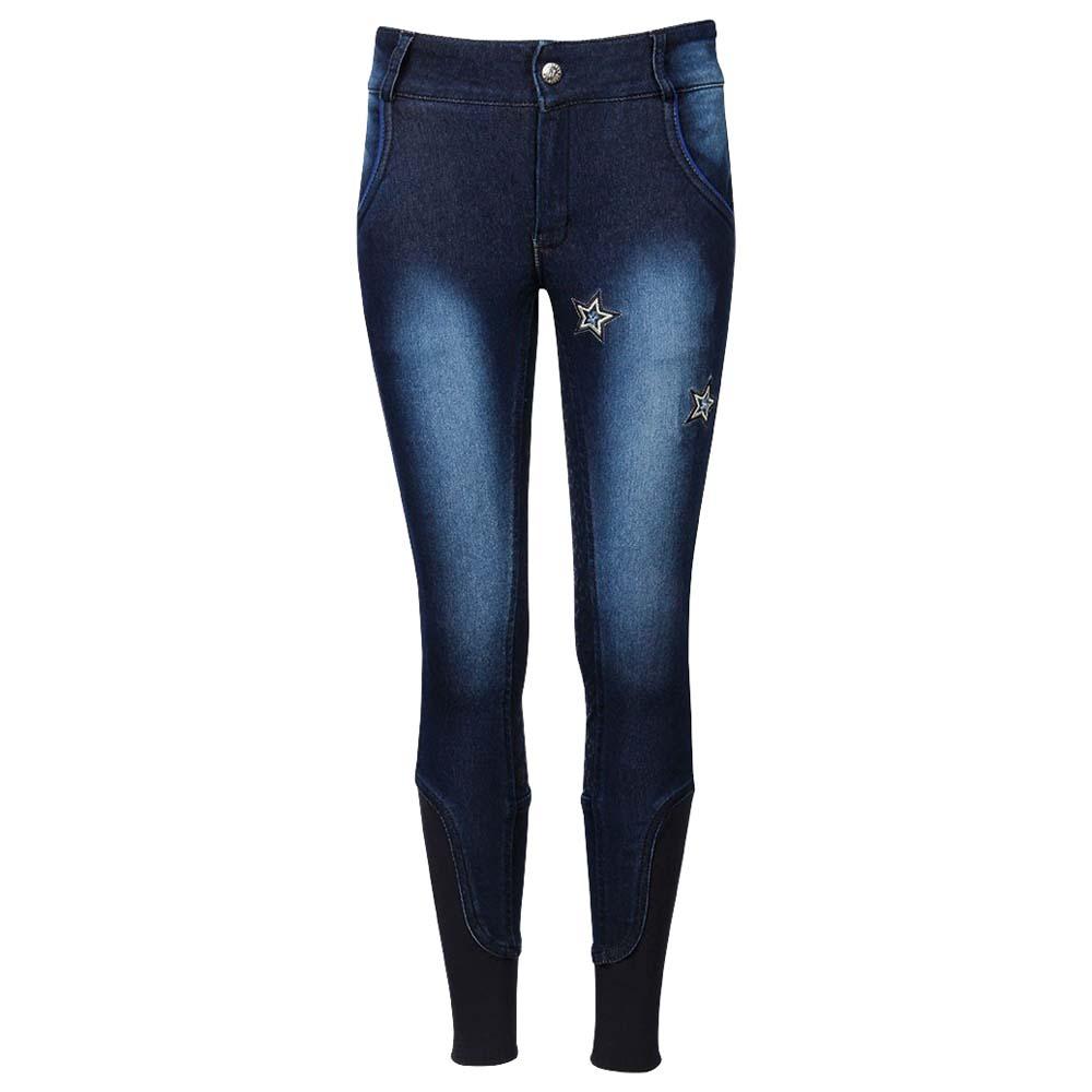 Harry's Horse Saint James FG kinder rijbroek jeans maat:140