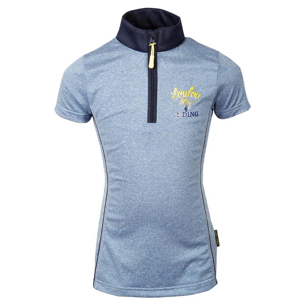 Harry's Horse Mandini Kinder Techshirt blauw maat:164