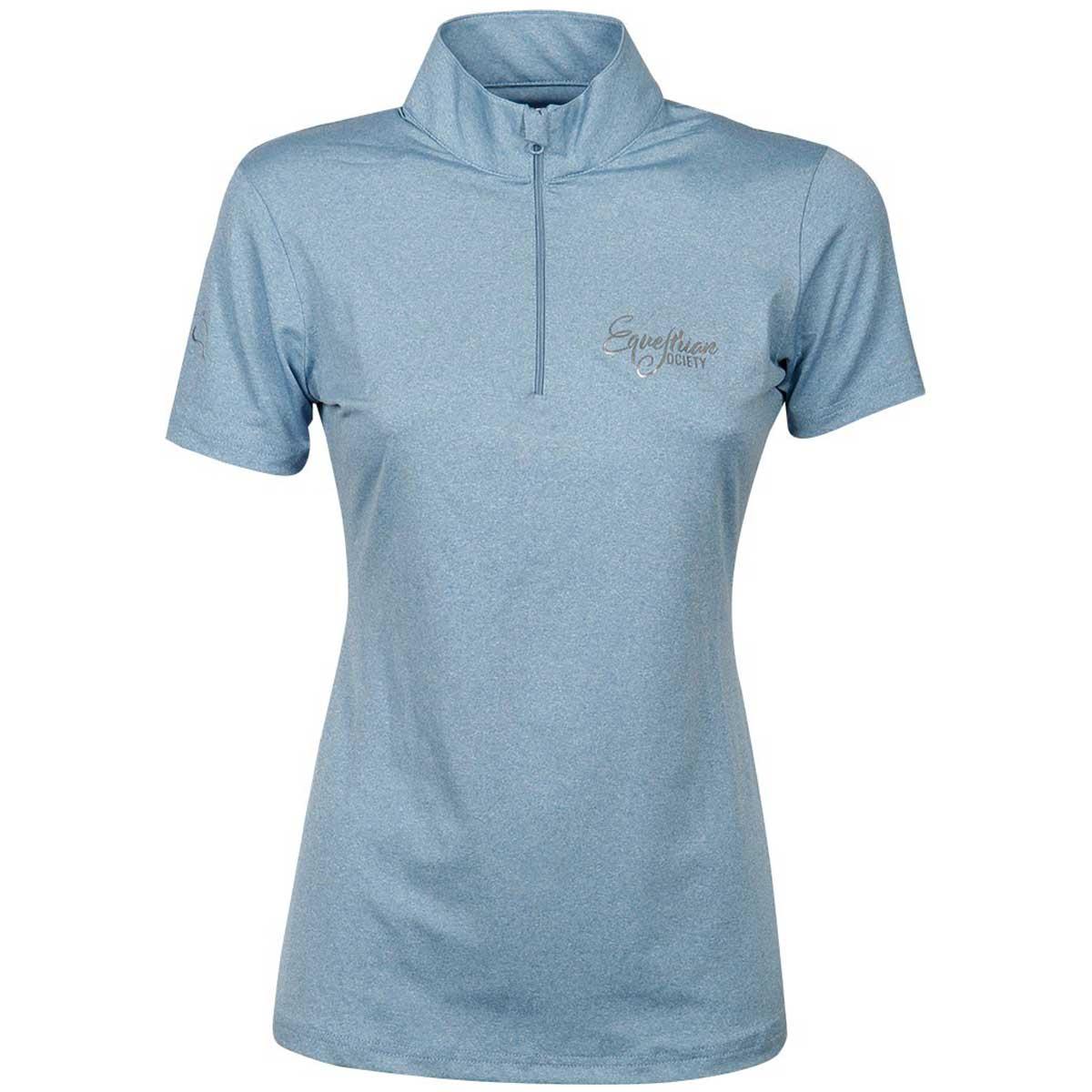 Harry's Horse Harding Techshirt lichtblauw maat:m