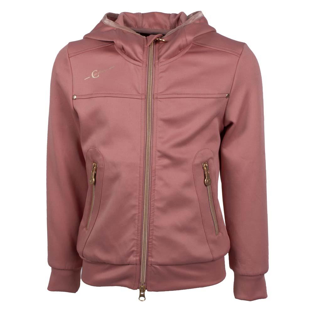 Covalliero kinder Sweatvest vj21 roze maat:128