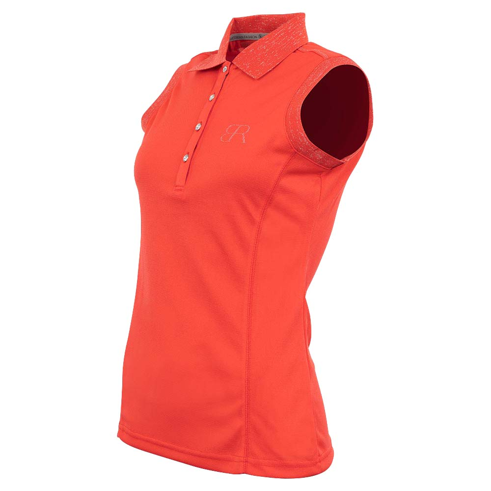 BR Rosanne Polo rood maat:xs