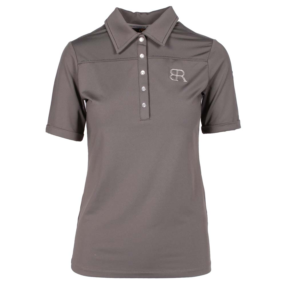 BR Romee Polo donkergrijs maat:m