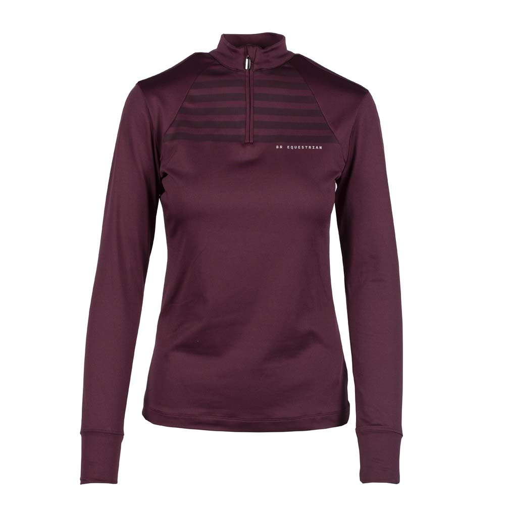 BR Stacy Pully bordeaux maat:m