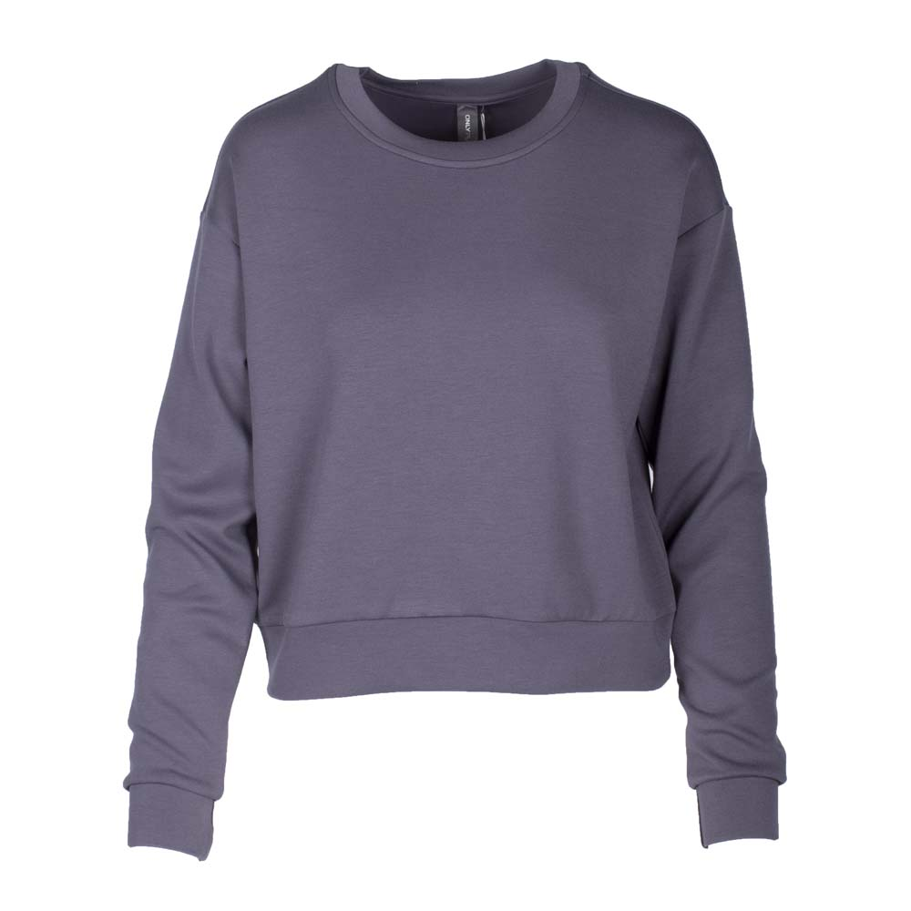 Only Play Lounge Sweater grijs maat:m