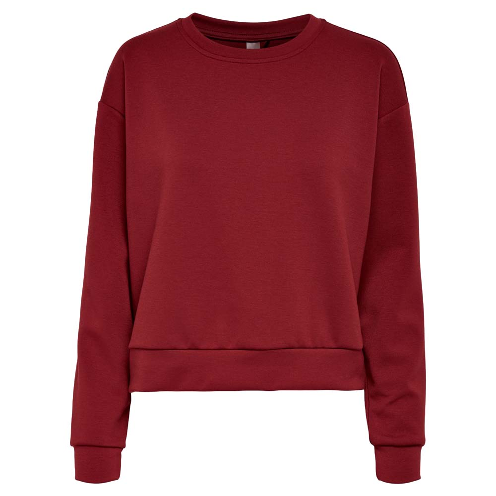 Only Play Lounge Sweater rood maat:s