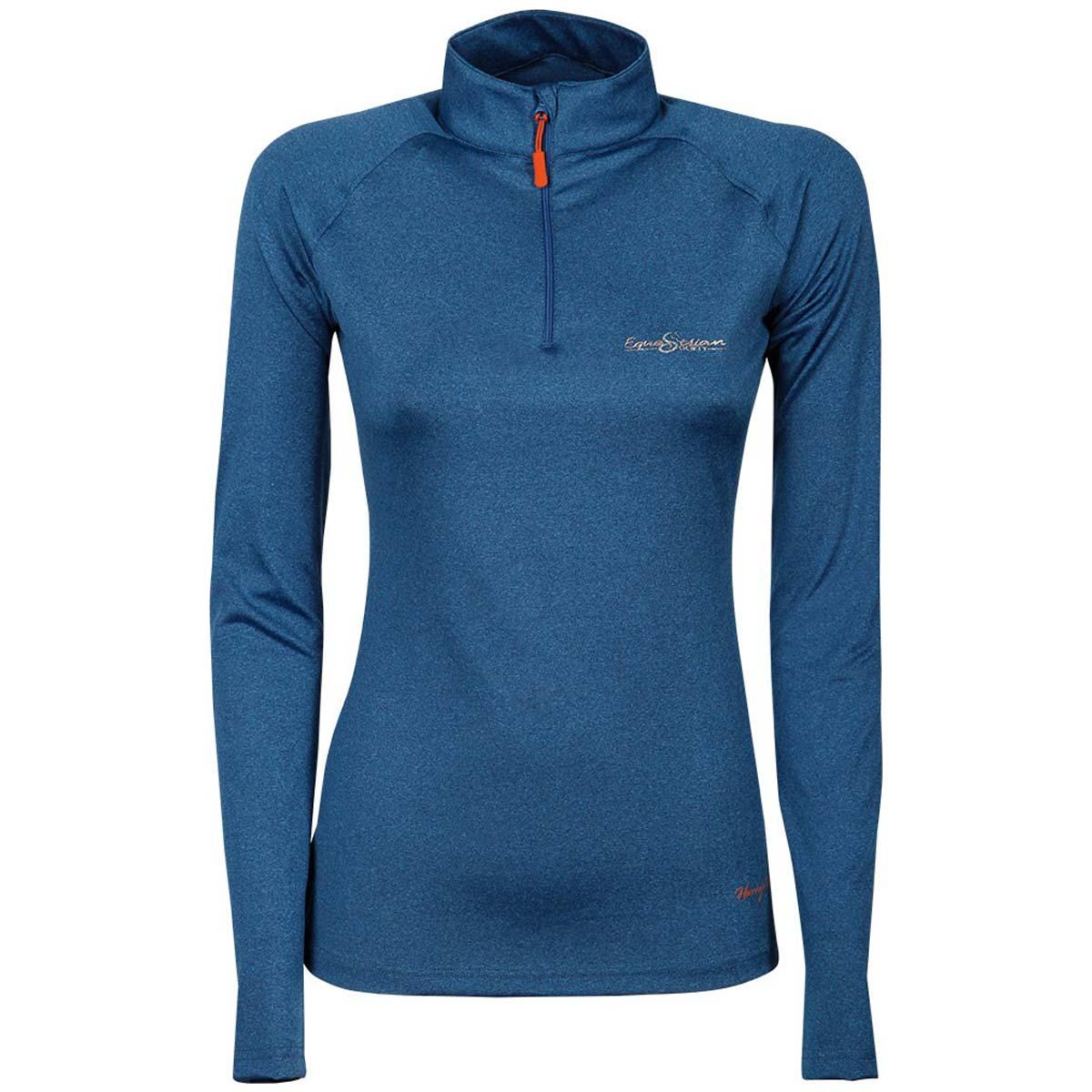 Harry's Horse Lier Techshirt blauw maat:xl