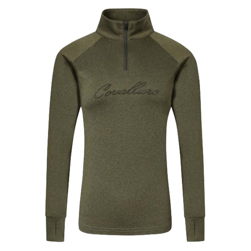 Covalliero NJ21 Trainingsshirt groen maat:xs