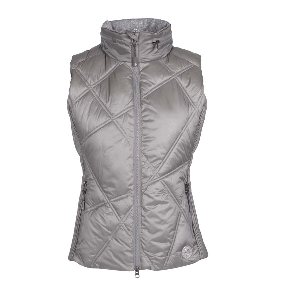 ANKY Quilted Bodywarmer ATC212001 grijs maat:l