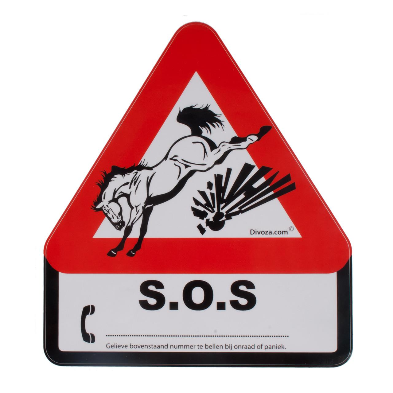 Trailersticker SOS