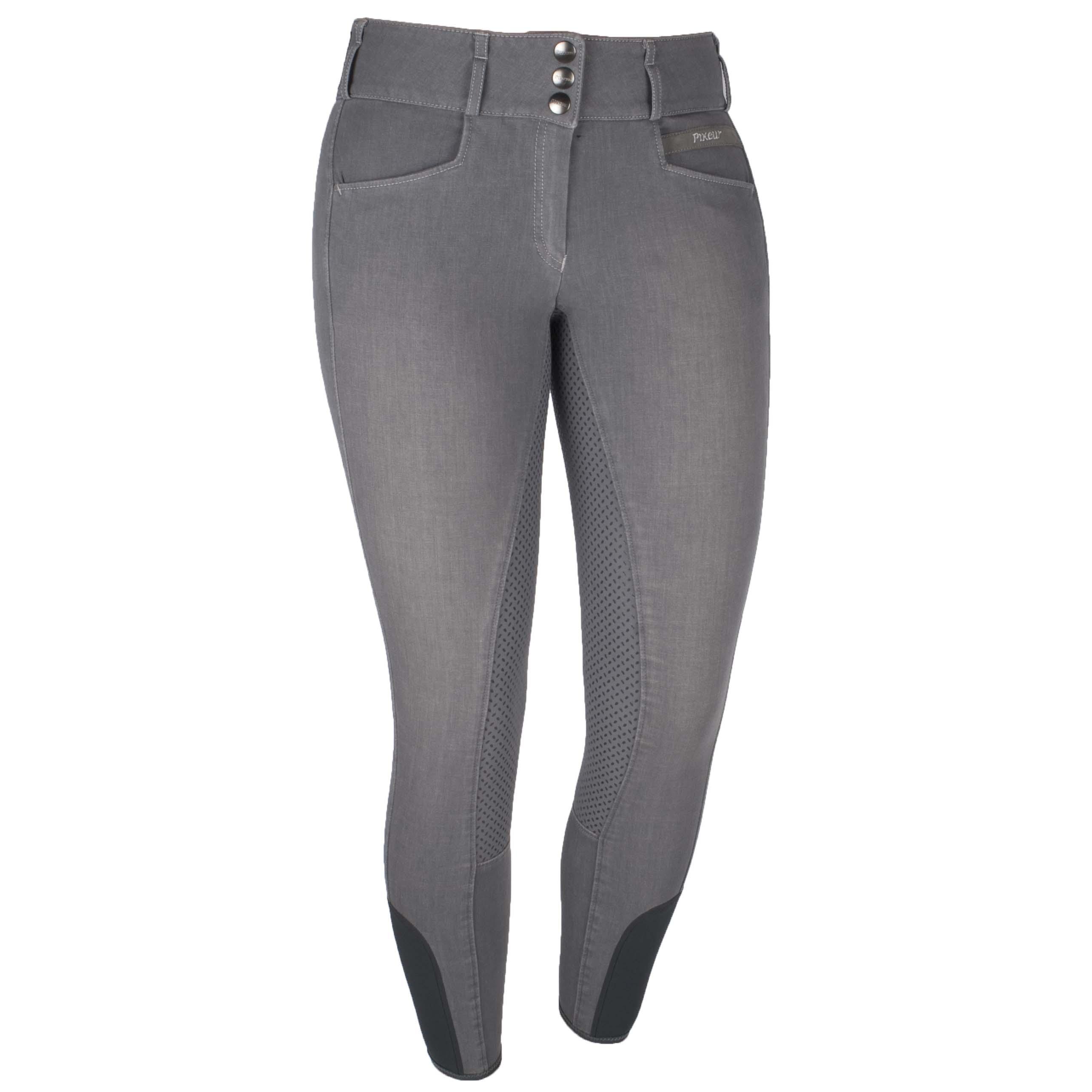 Pikeur Candela Grip jeans rijbroek zwart maat:38