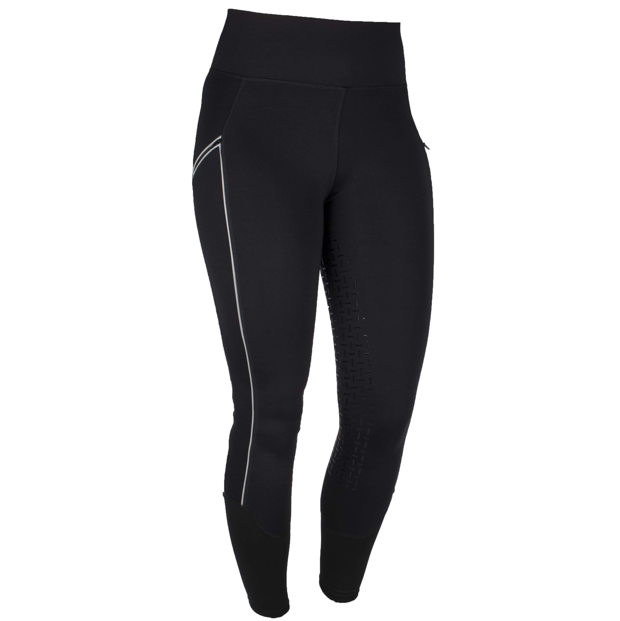 Harrys Horse Equi Tights FG rijlegging zwart maat:36