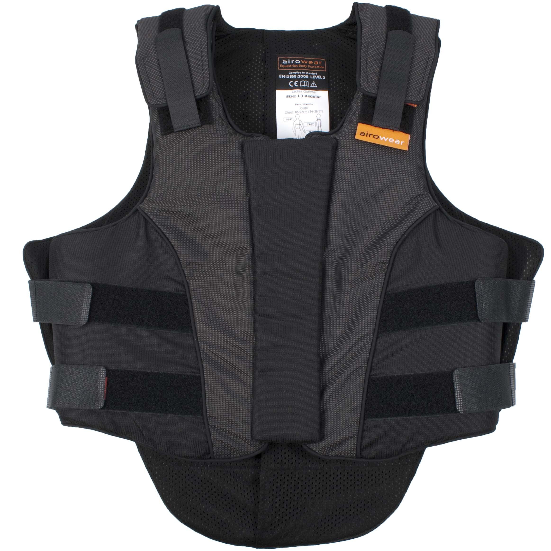 Airowear Outlyne bodyprotector zwart maat:s