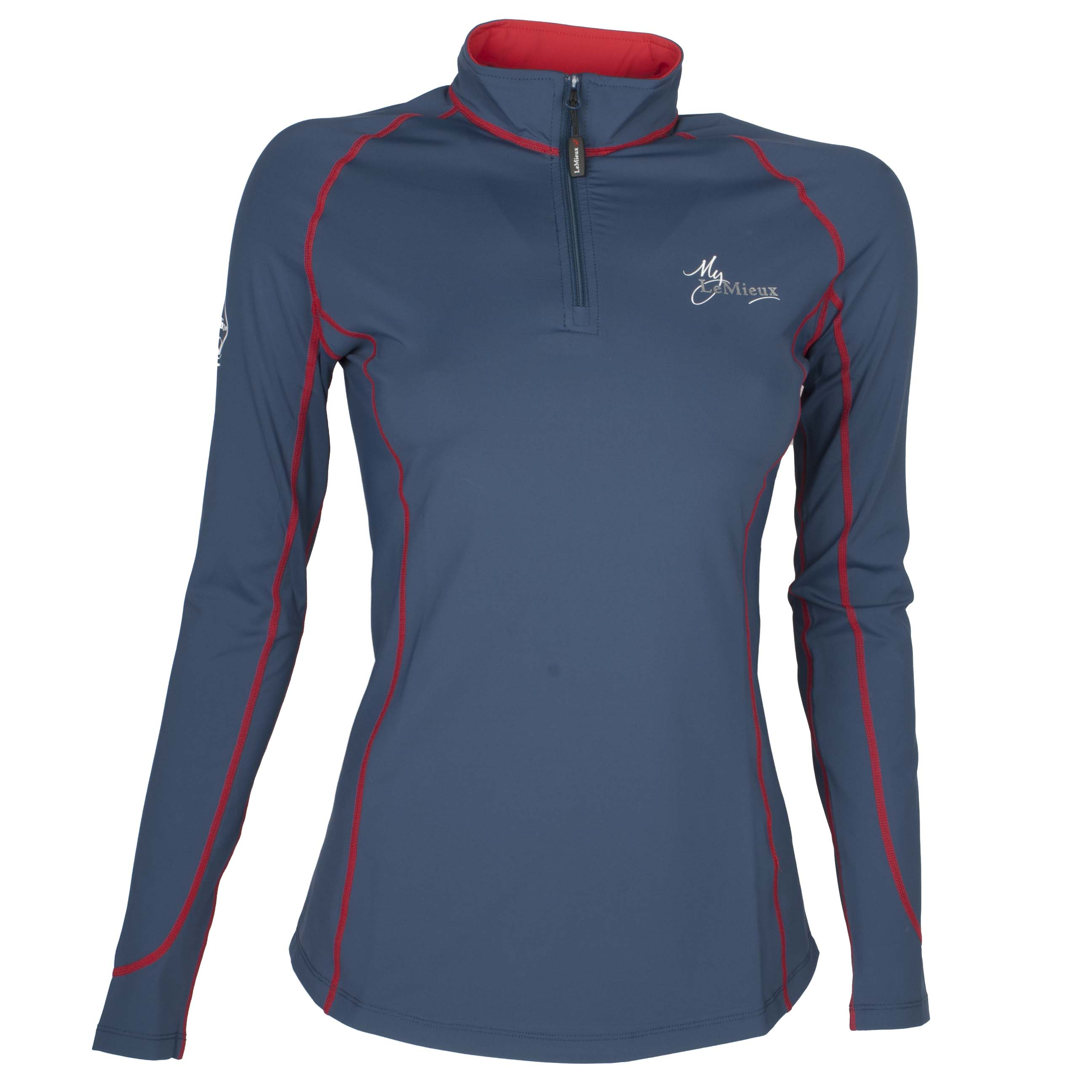 LeMieux Climate Layer shirt donkerblauw maat:l