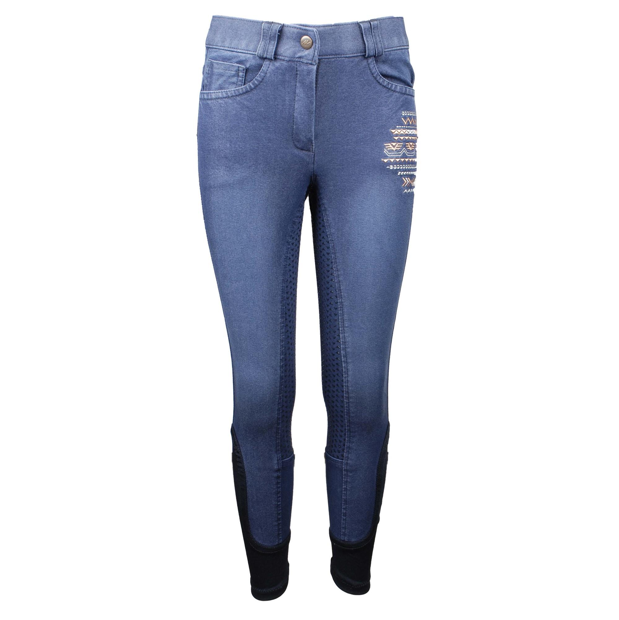 Mondoni Eivissa kinder rijbroek jeans maat:176