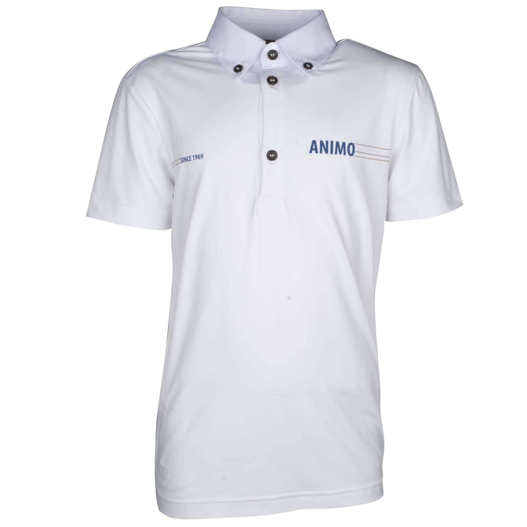 Animo Amilka kinder wedstrijdshirt wit maat:152