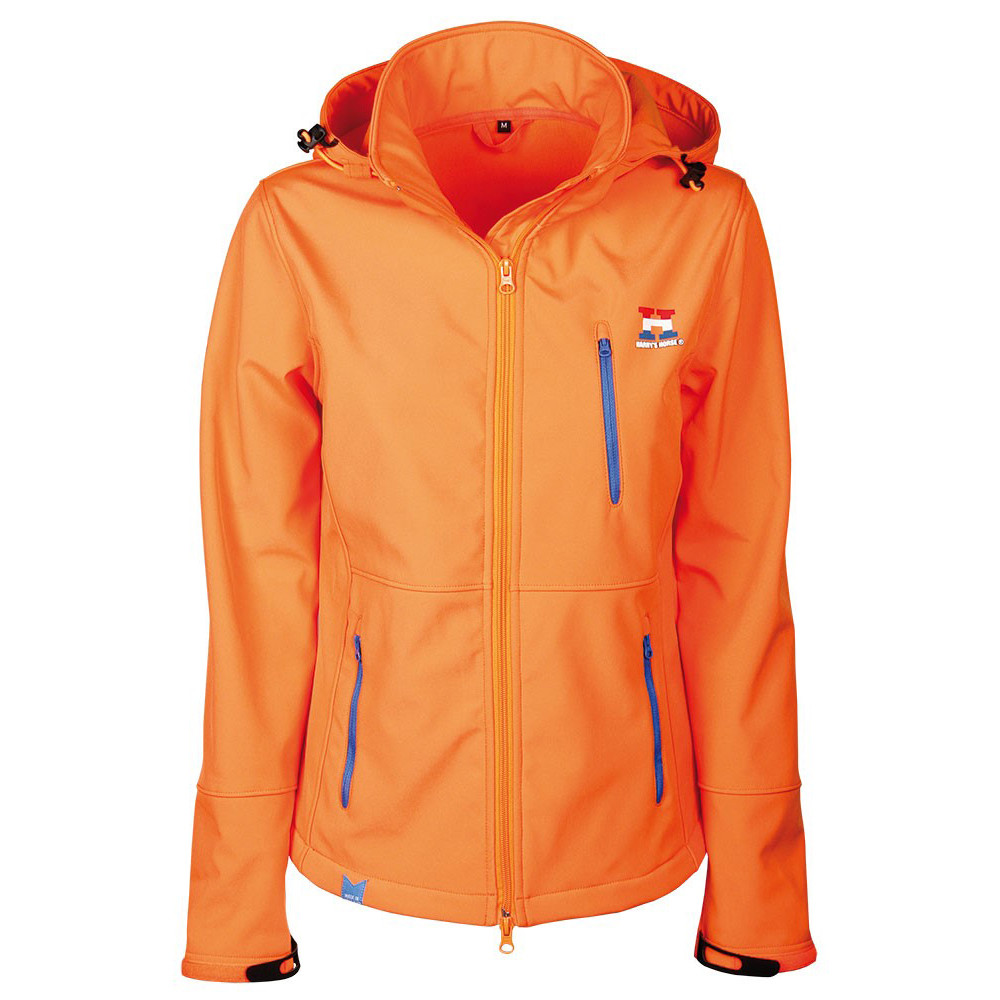 Harrys Horse Dutch Horse Squad softshell oranje maat:xs