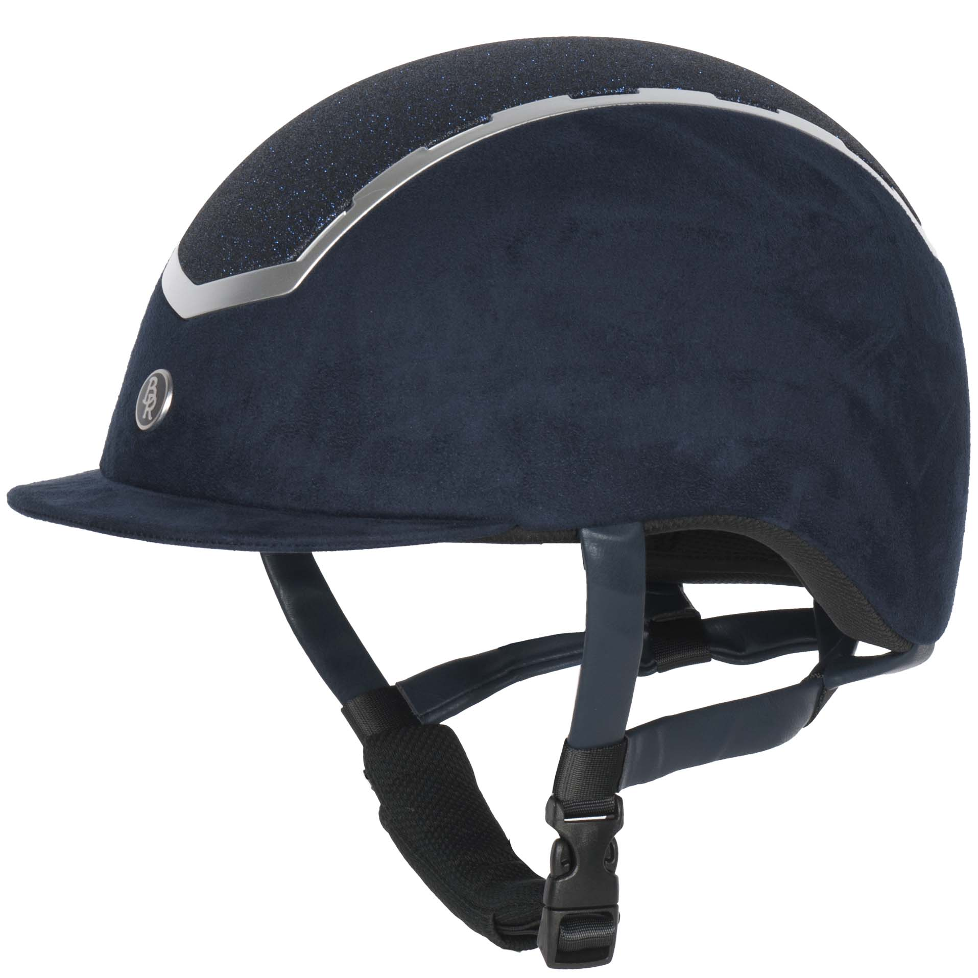 BR Sigma Glitter cap donkerblauw maat:l