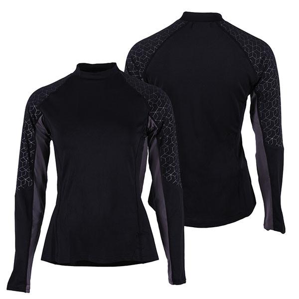 QHP QCross Eldorado techshirt zwart maat:38