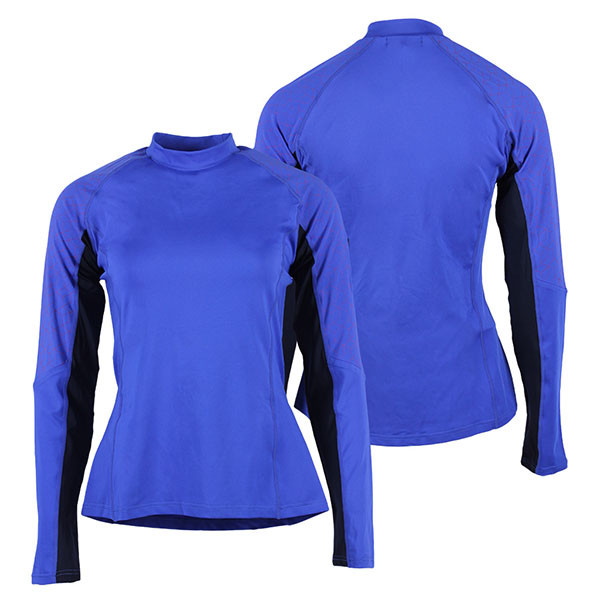 QHP QCross Eldorado techshirt blauw maat:34