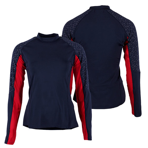 QHP QCross Eldorado techshirt donkerblauw maat:38