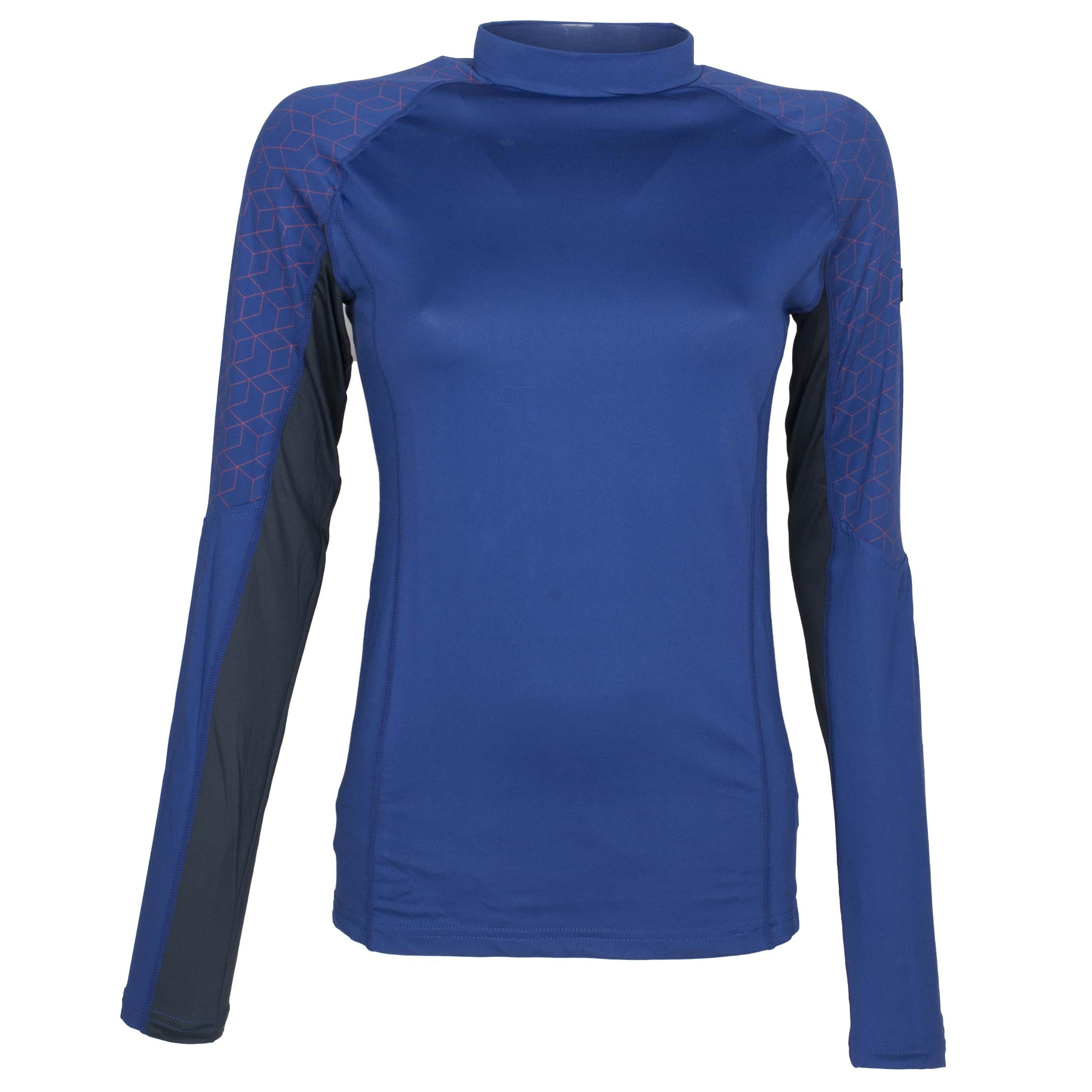 QHP QCross Eldorado techshirt kobalt maat:38