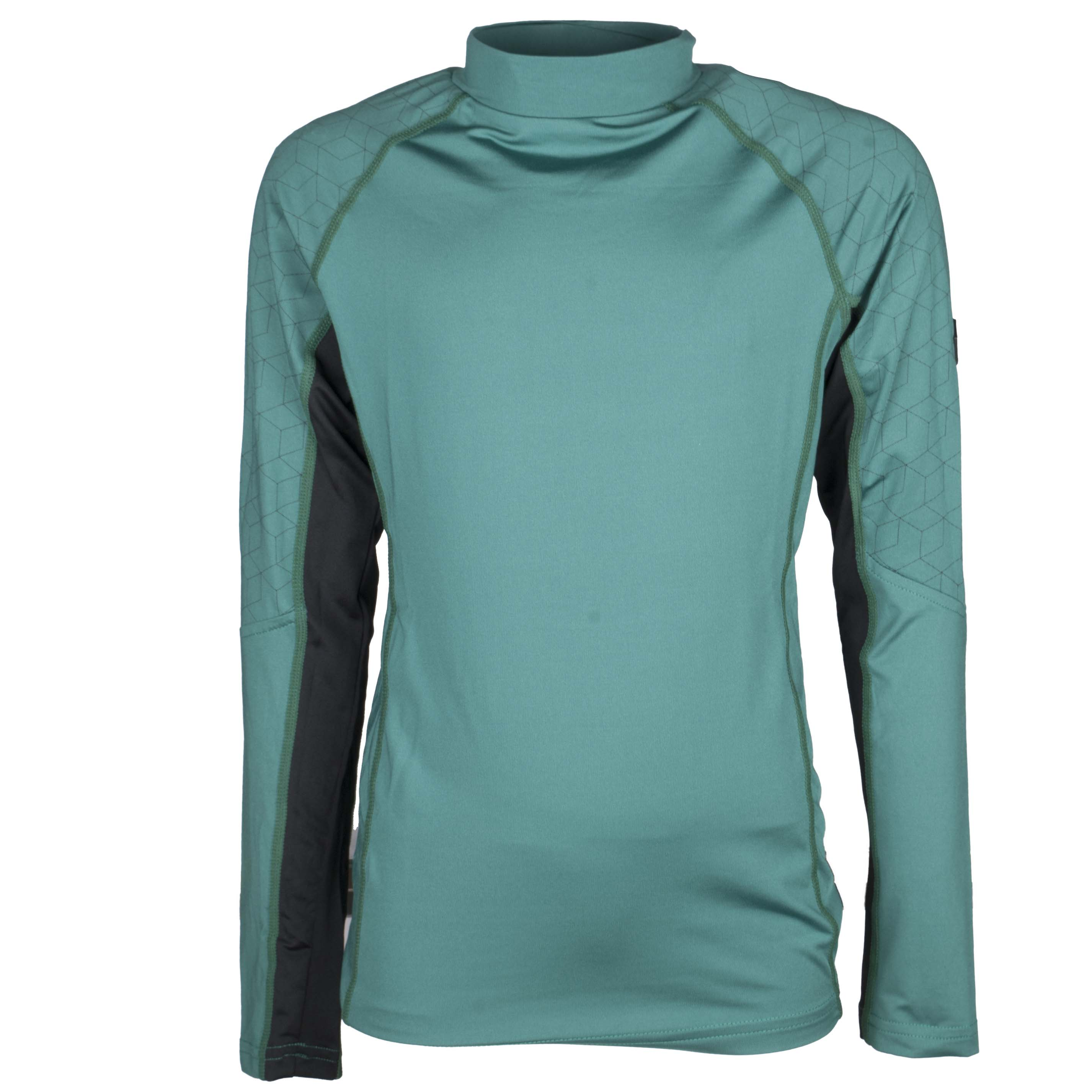 QHP QCross Eldorado kinder techshirt groen maat:140