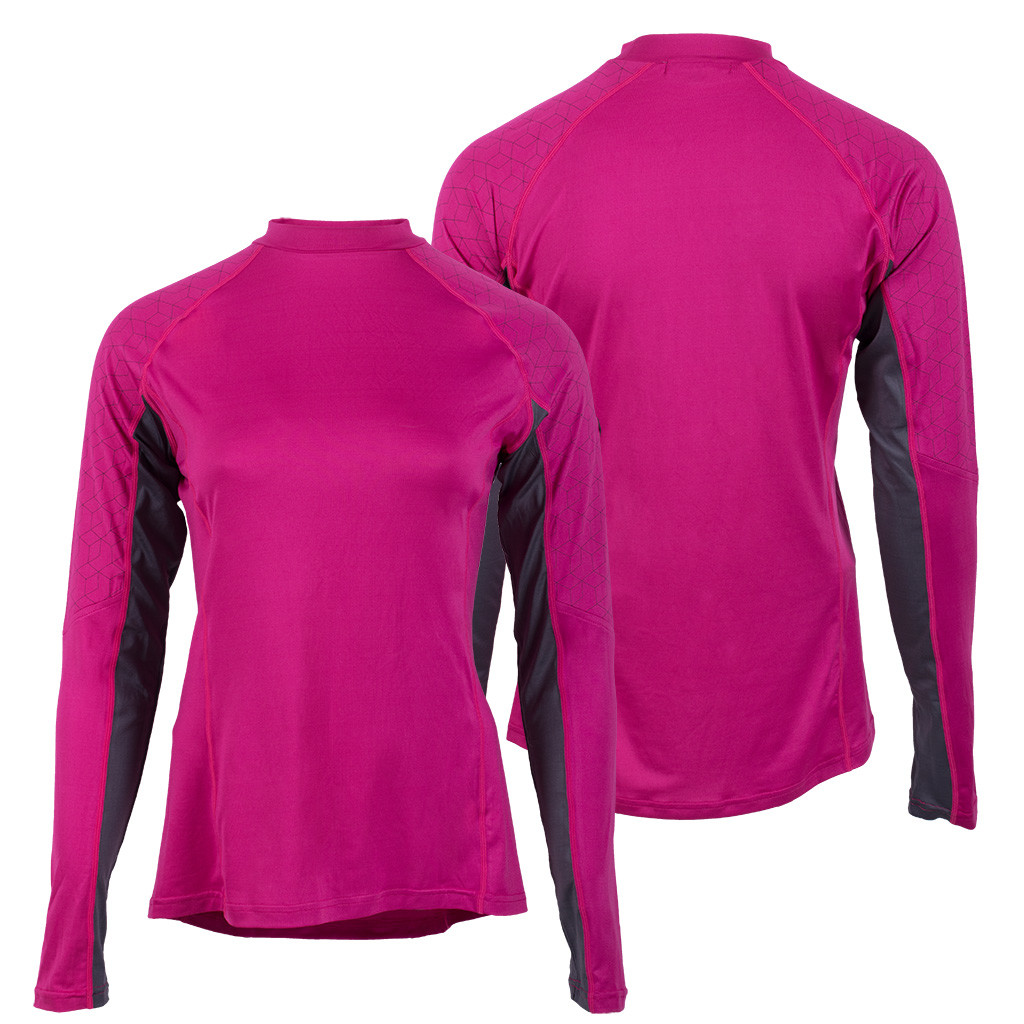 QHP QCross Eldorado kinder techshirt roze maat:164