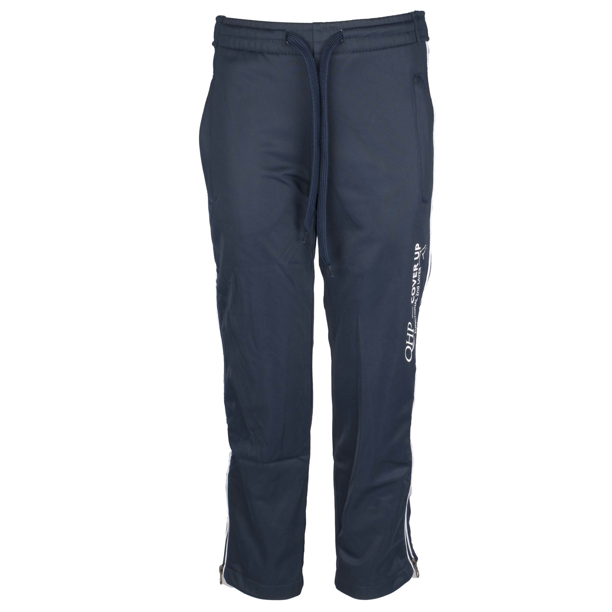 QHP kinder Trainingsbroek cover up donkerblauw maat:s