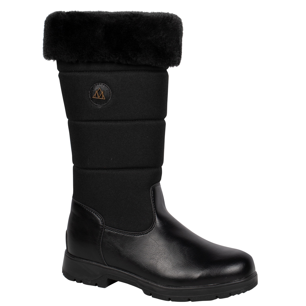 Mountain Horse Vermont Mid Height laars zwart maat:40