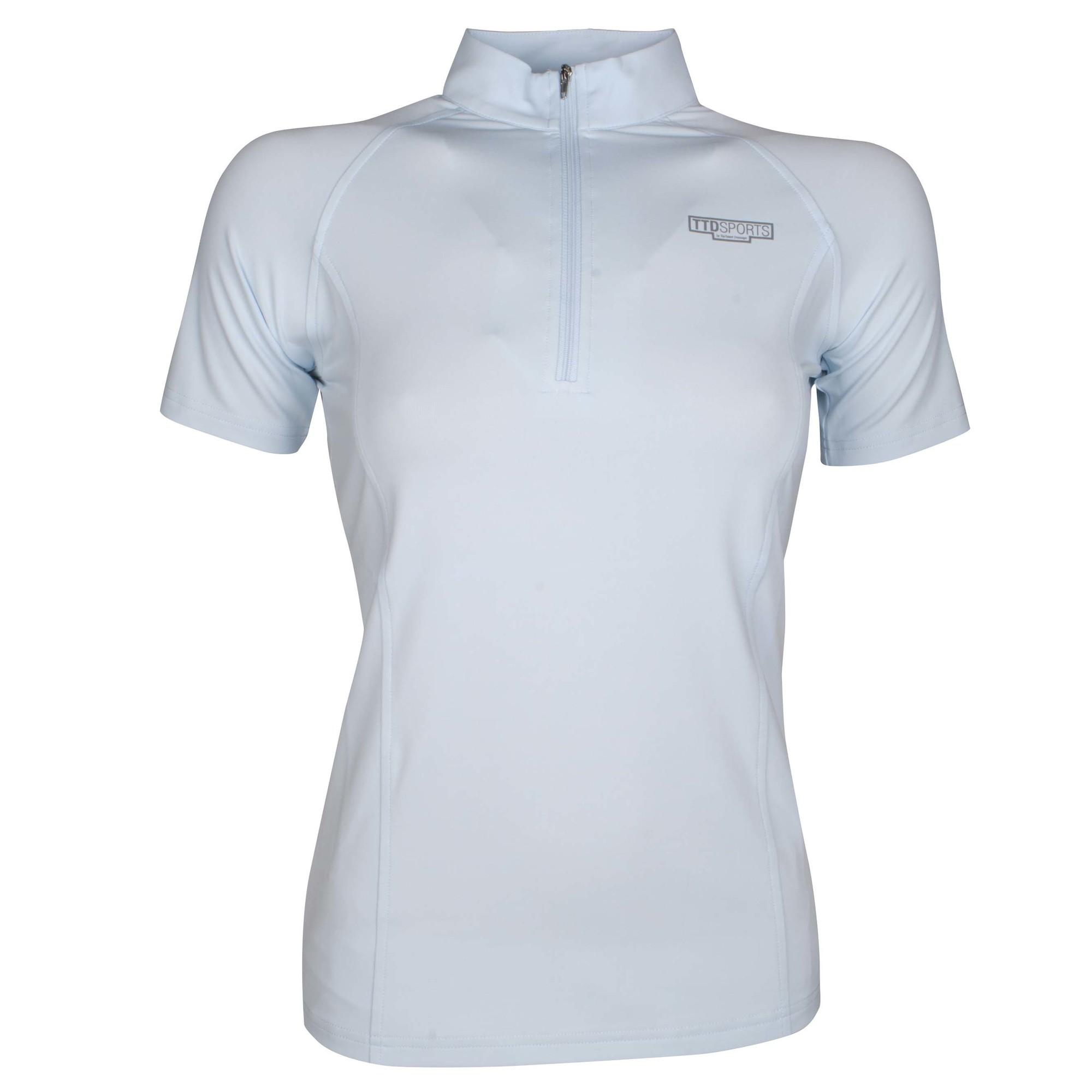 TTD Shaquille tshirt lichtblauw maat:m