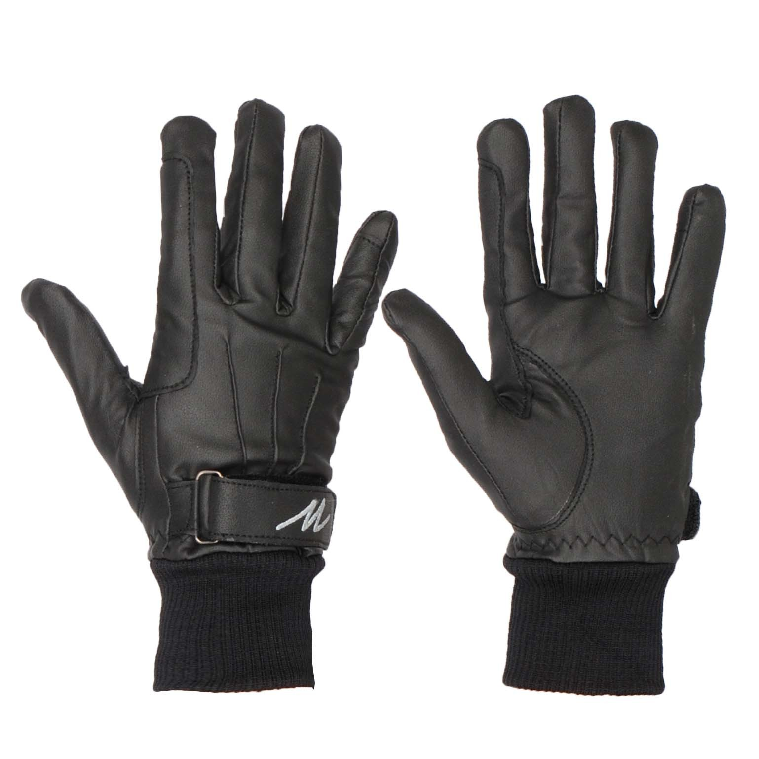 Mondoni Cordoba handschoenen zwart maat:xs