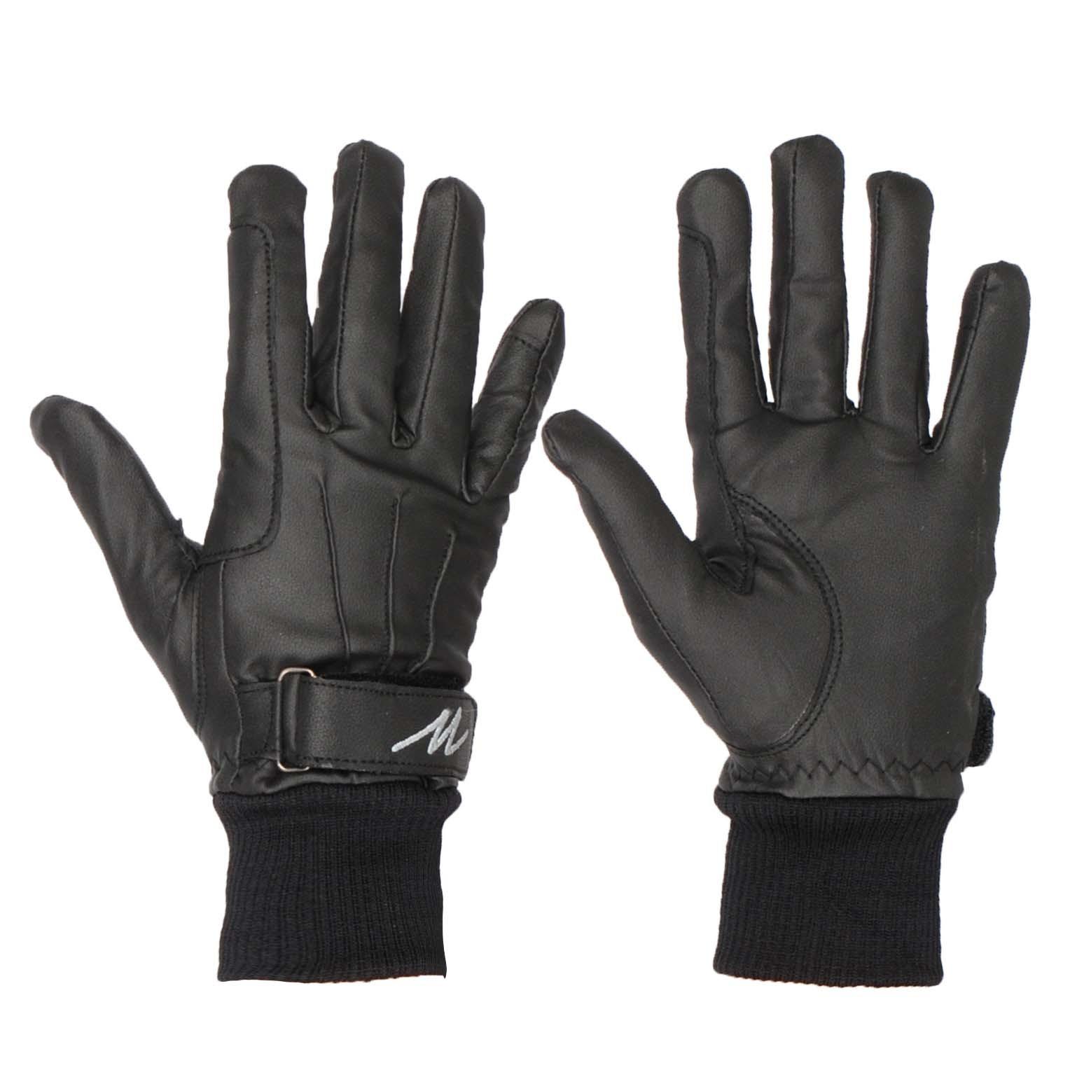 Mondoni Cordoba handschoenen zwart maat:s