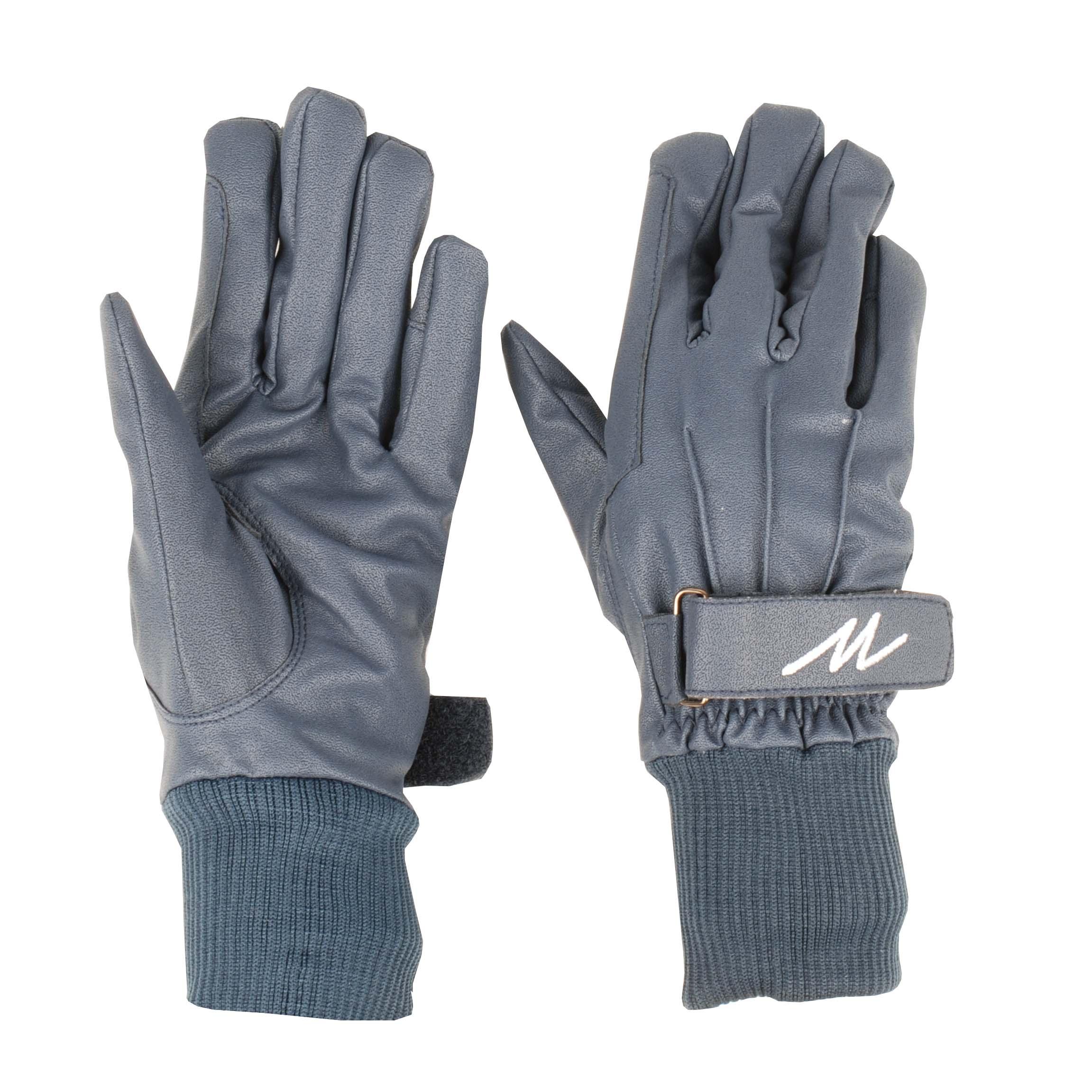 Mondoni Cordoba handschoenen donkerblauw maat:m