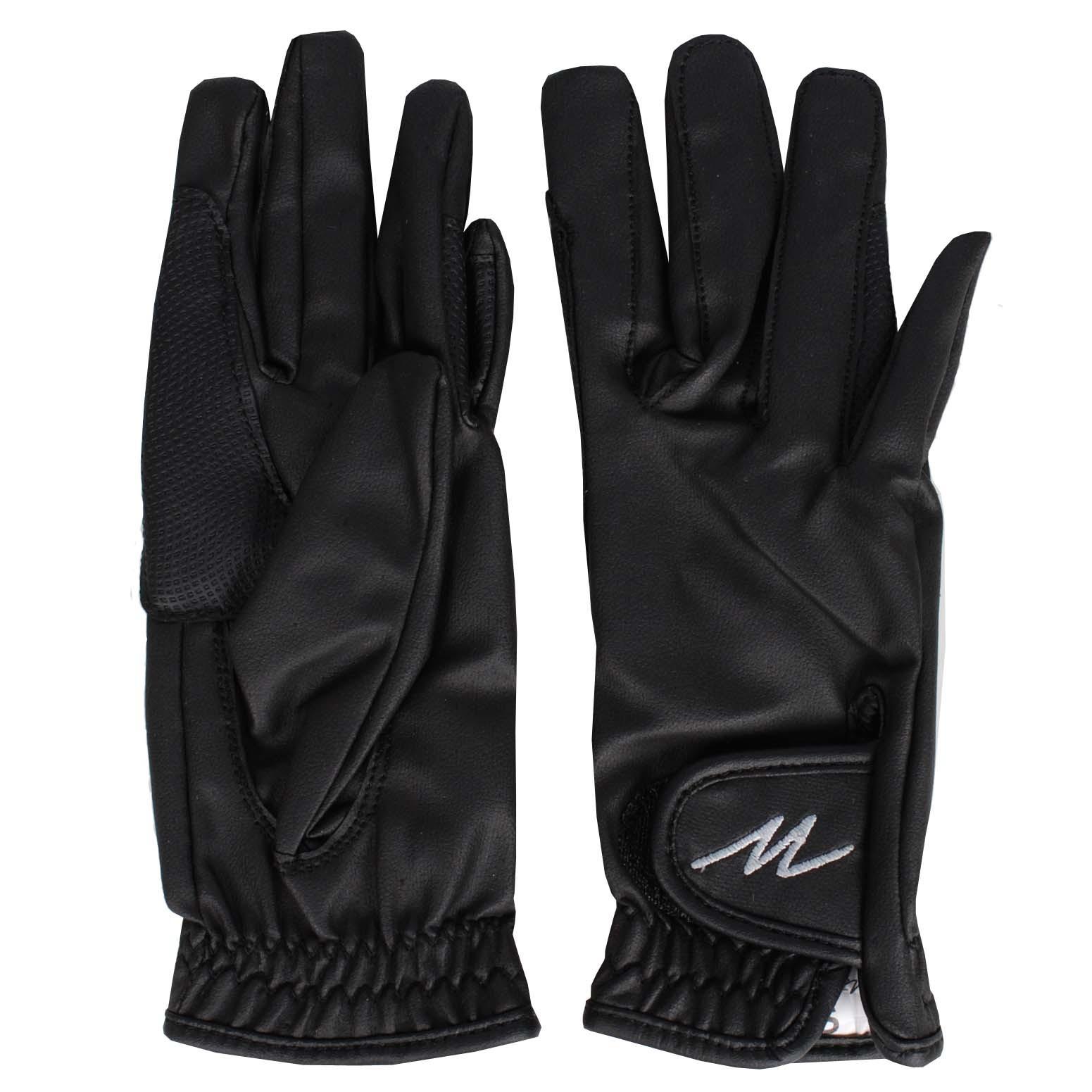 Mondoni Salvador handschoenen zwart maat:m