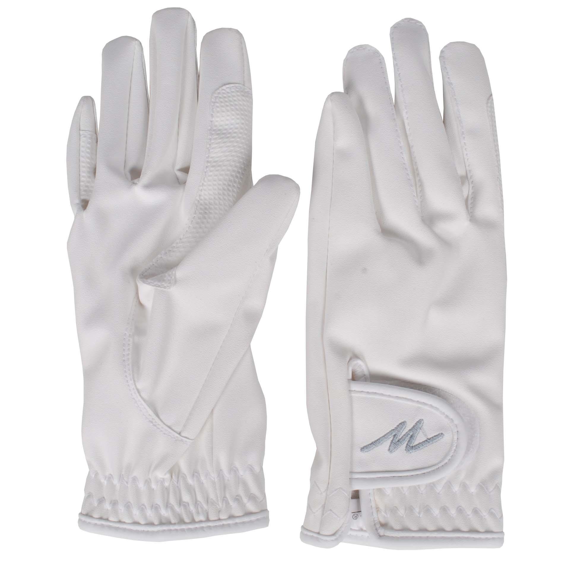 Mondoni Salvador handschoenen wit maat:m