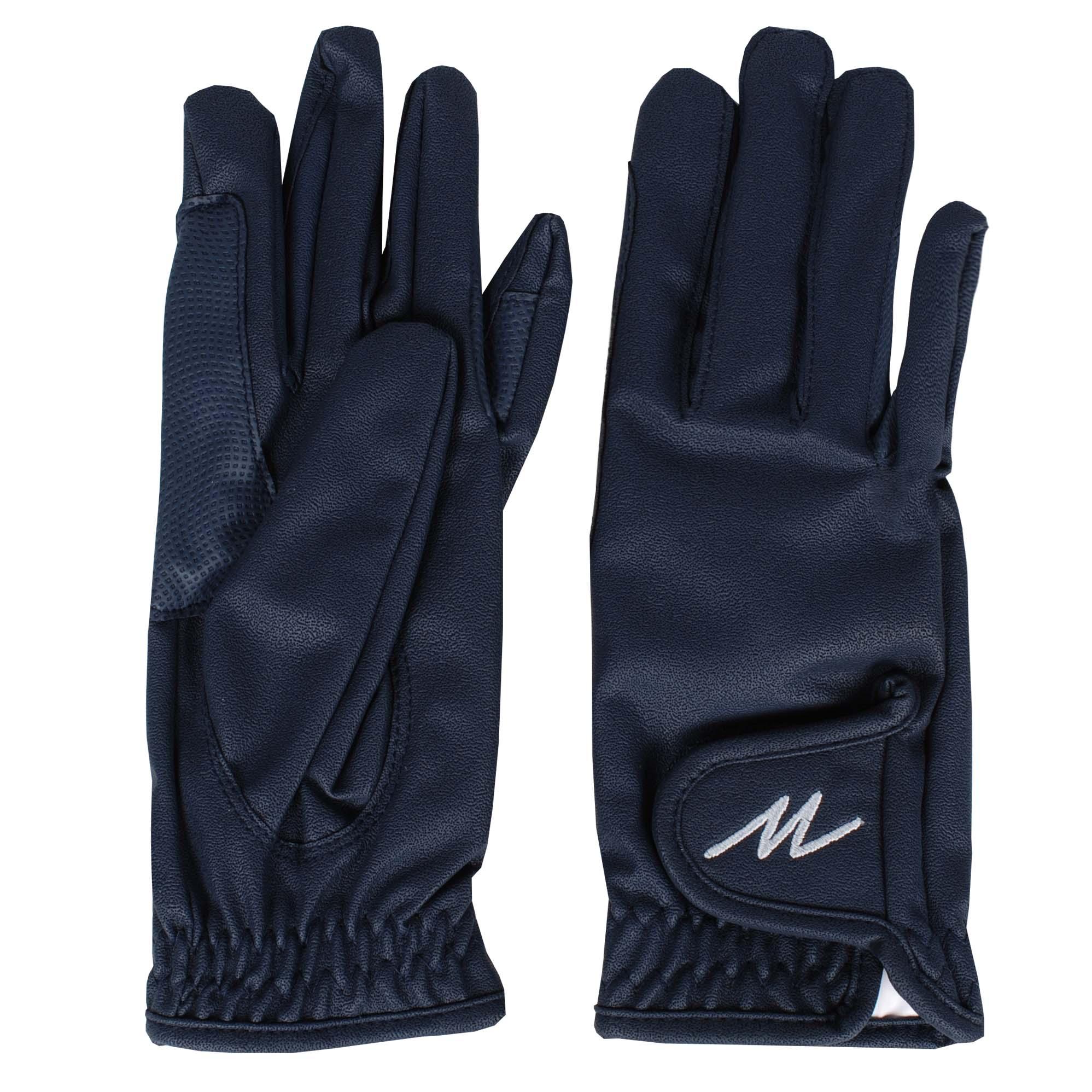 Mondoni Salvador handschoenen donkerblauw maat:s